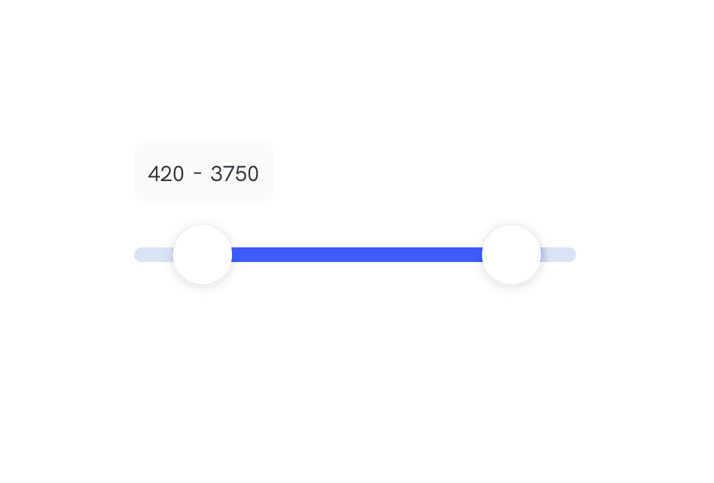 How to: Dual range slider in React with Framer Motion